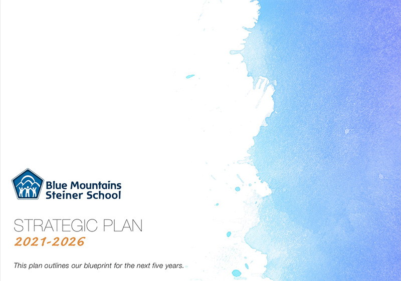 2021-2026 Strategic Plan cover.