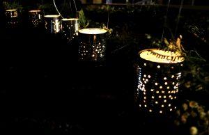Handmade candles.